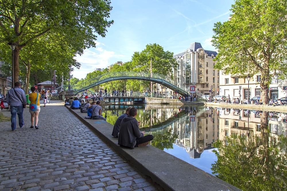 2021 Paris les passerelles du Canal Saint-Martin petite beauté travaux