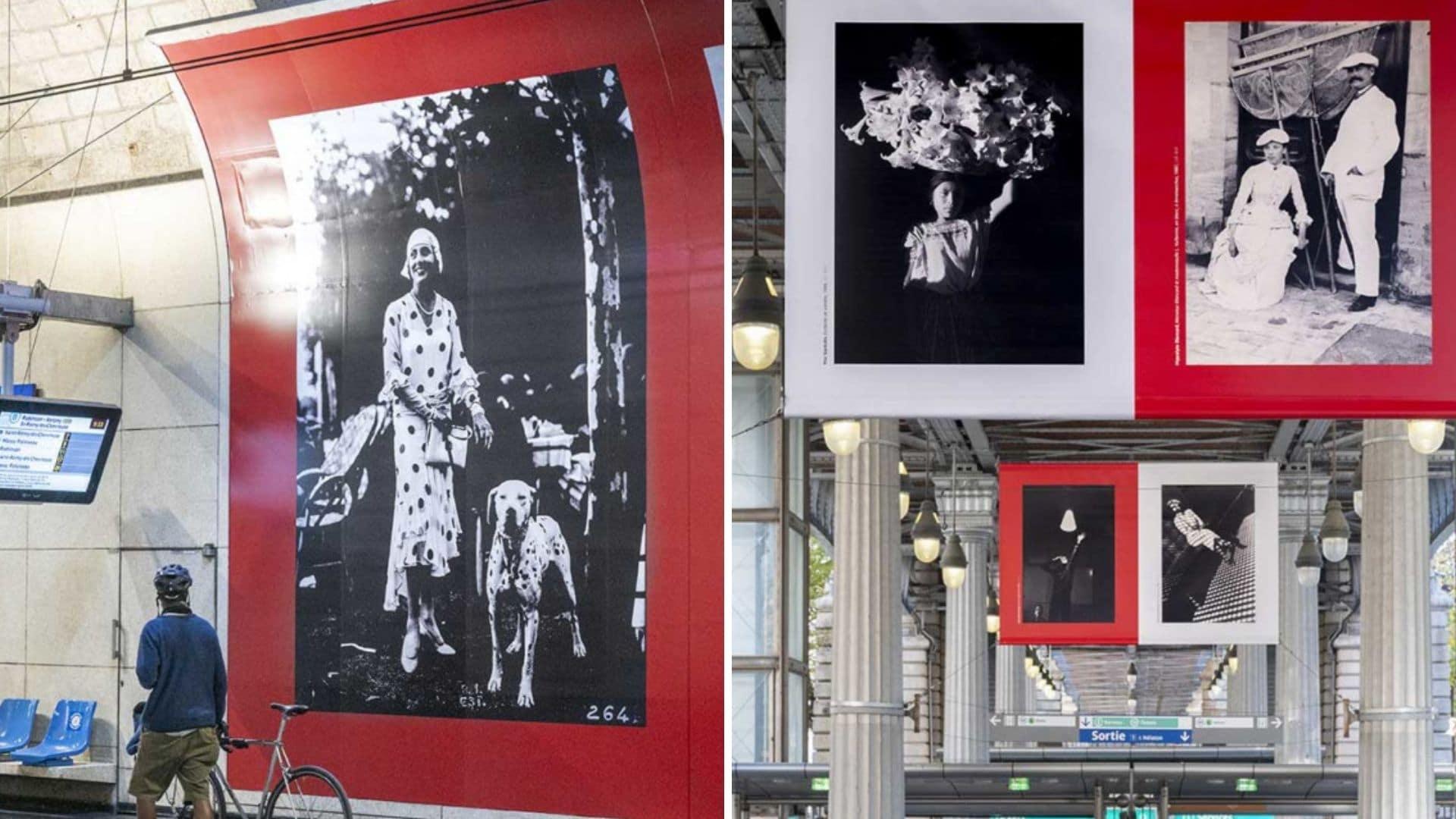 exposition noir et blanc métro paris grand palais photo bnf ratp