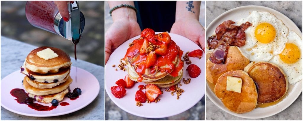 Où commander meilleurs pancakes de Paris Food 2021