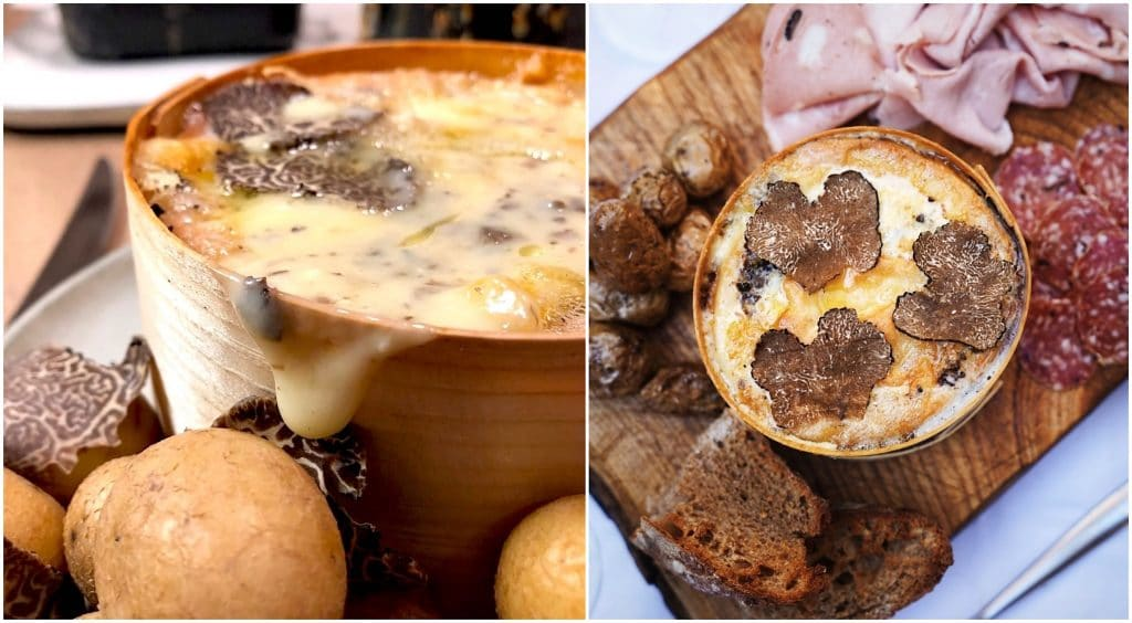 Mont d'Or à la truffe Artisan de la Truffe Paris
