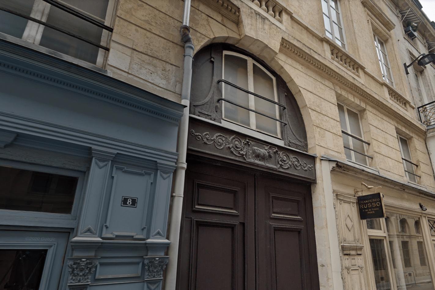 le boeuf à la mode restaurant paris histoire vestiges