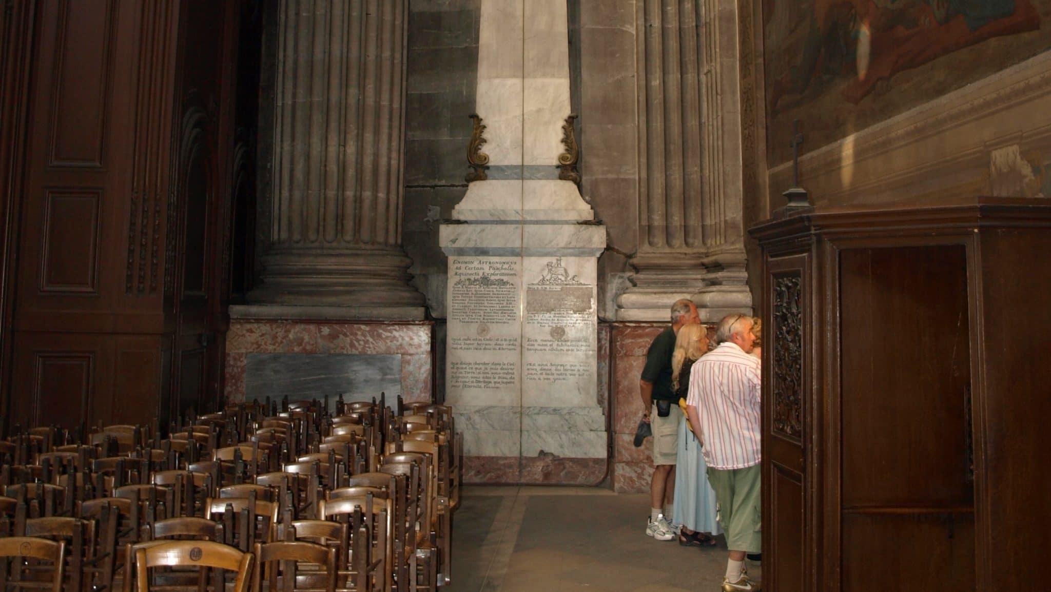 gnomon eglise saint sulpice revolution francaise temple de la raison effacé