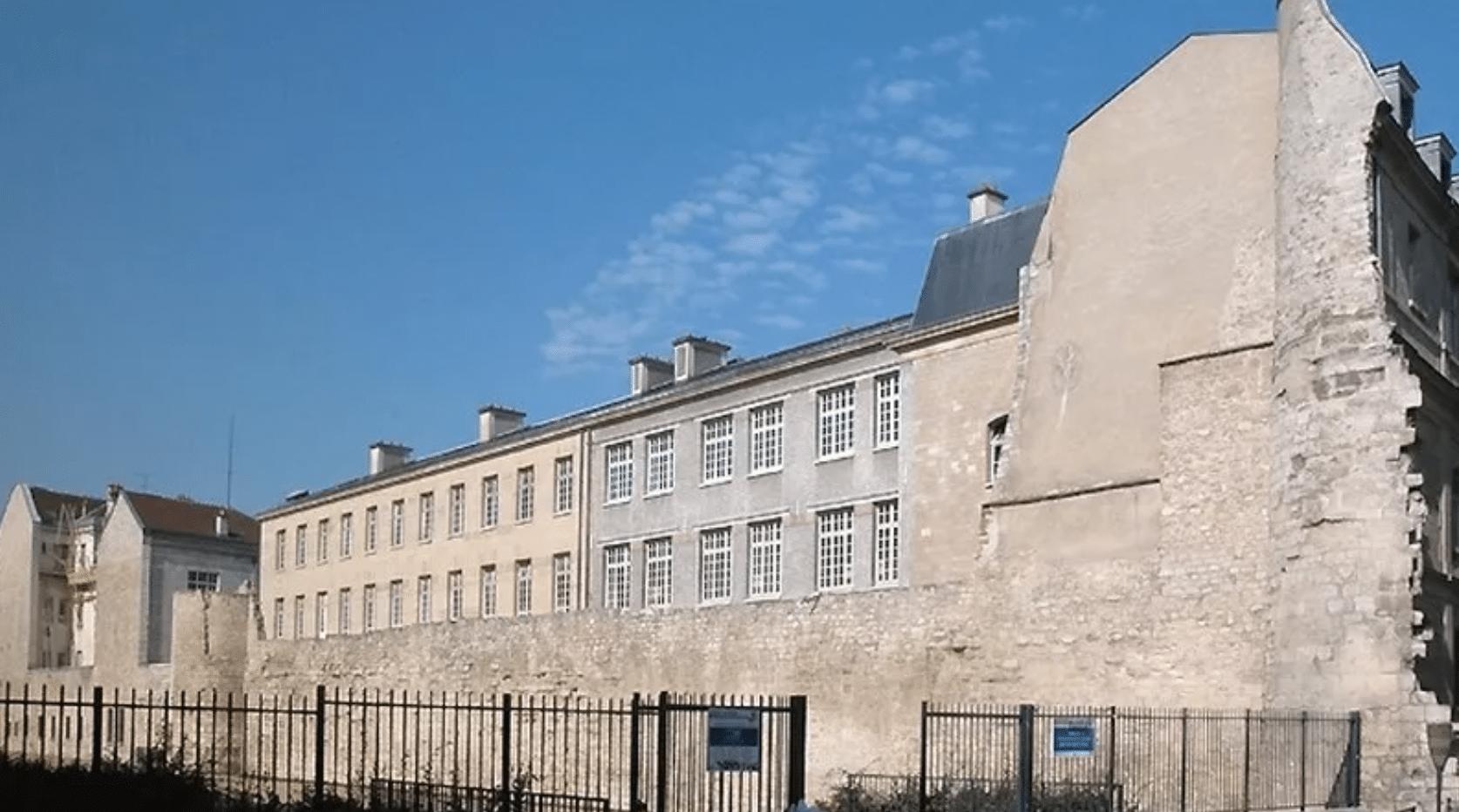 enceinte philippe auguste paris vestige jardins saint paul histoire