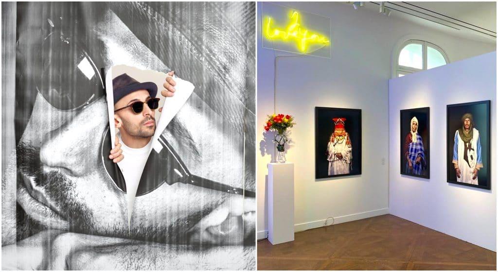 Paris 2021 street artiste JR Galleria Continua Expo Le Marais