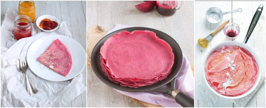 Chandeleur 2021 recettes de crêpes insolites colorées originales