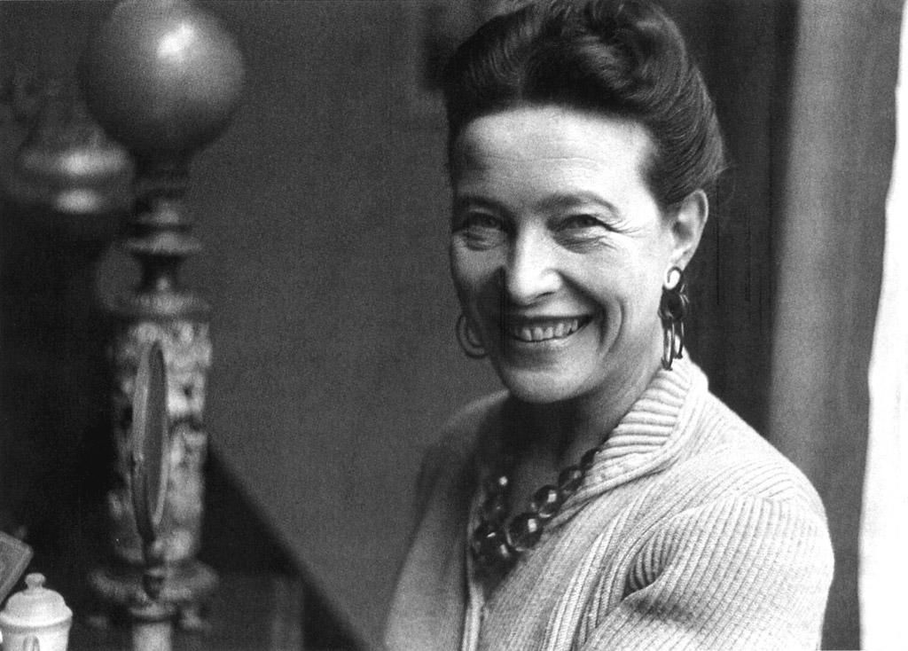 La Poste timbre Simone de Beauvoir 8 mars 2021 journée droits des femmes France