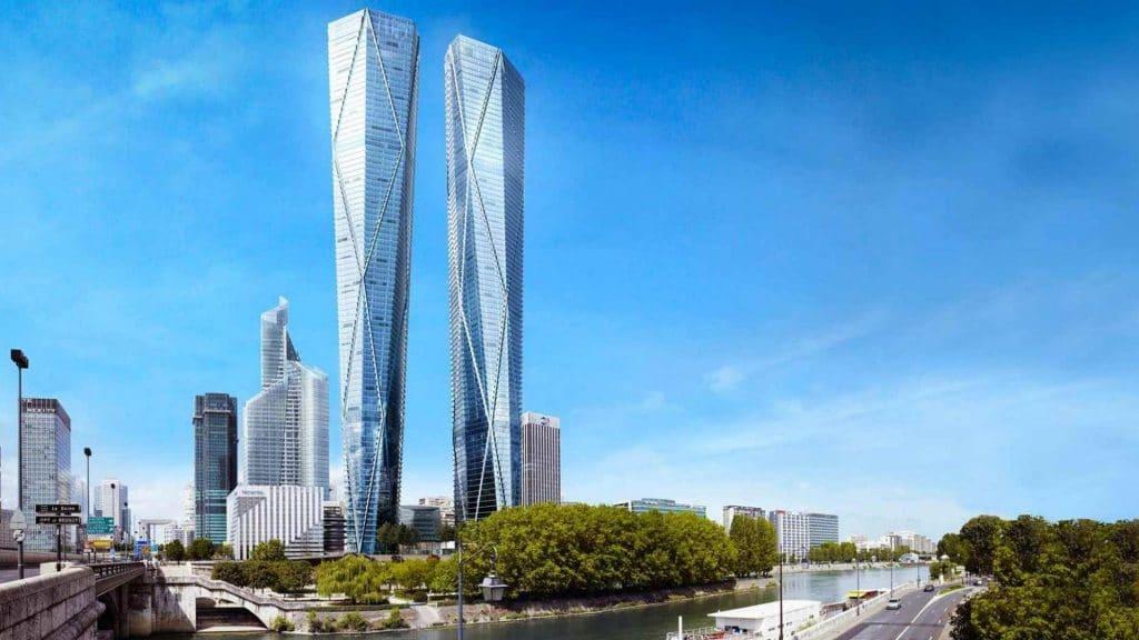 projet hermitage tours jumelles paris la défense gratte ciel building architecture