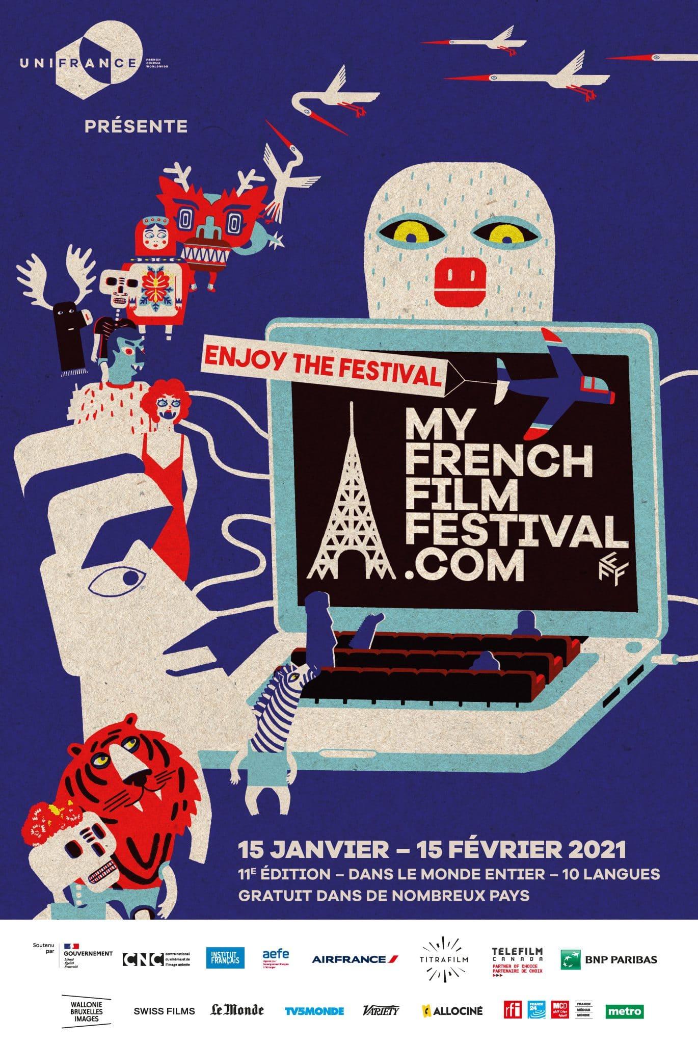 My french film - En ligne - festival - image - film - court métrage - long métrage - français