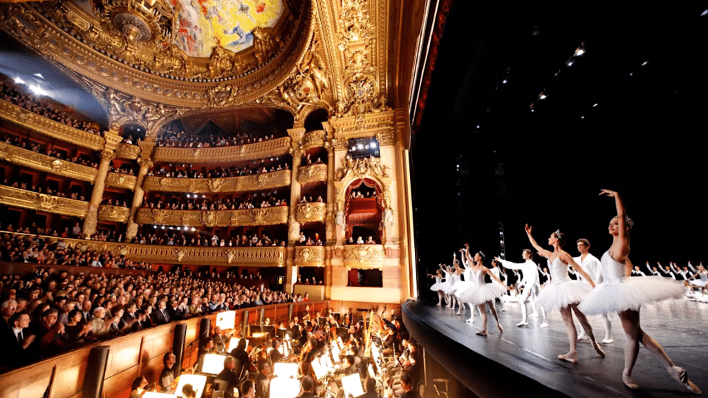 Gala d'ouverture danse Opéra de Paris en ligne gratuit streaming