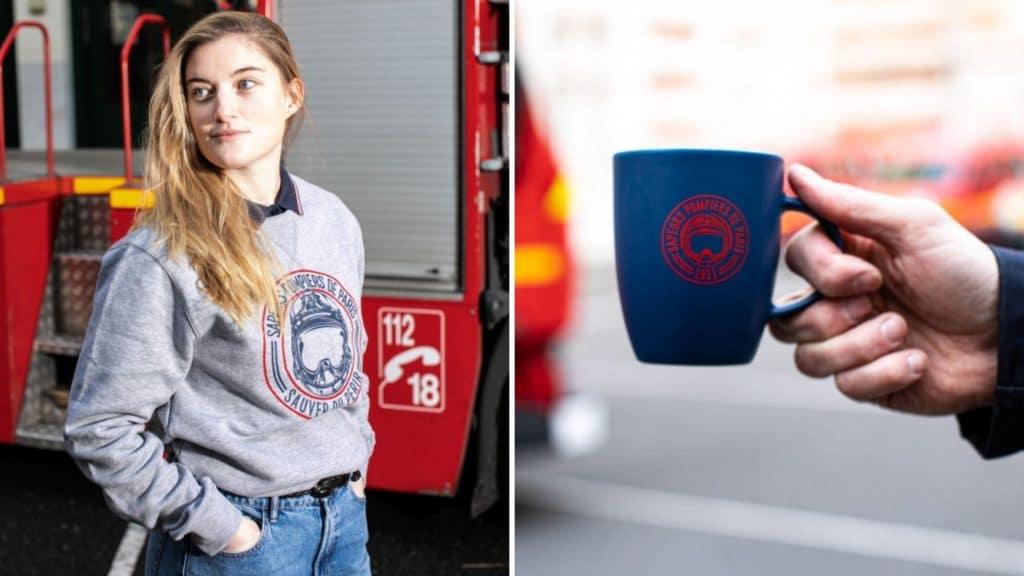 boutique officielle pompiers de paris en ligne online store shop accessoires mode