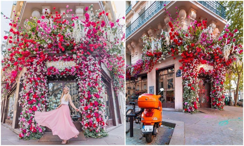 Plus beaux fleuristes Paris