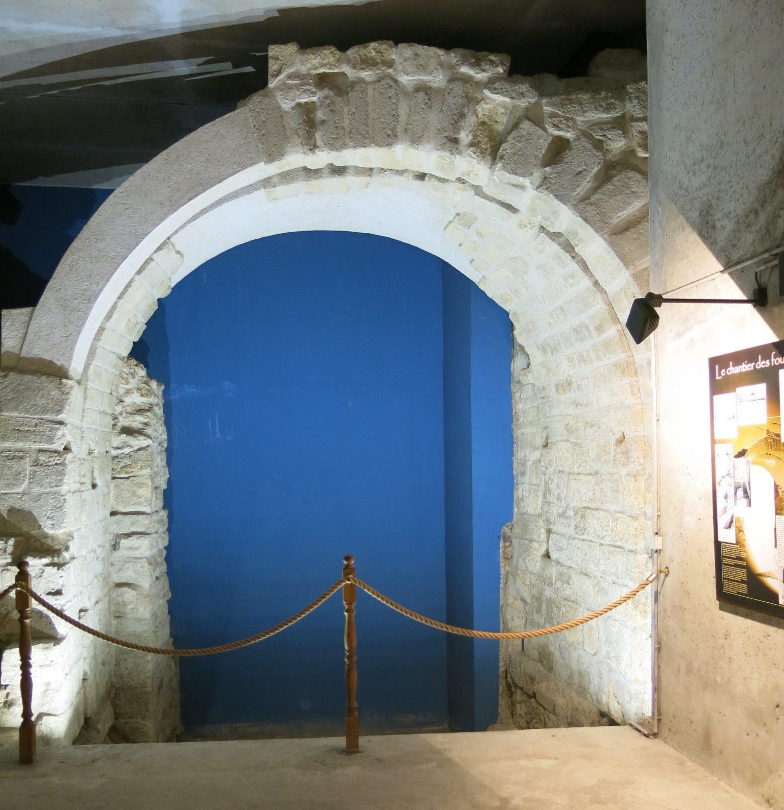 arche de la bièvre enceinte philippe auguste paris vestige histoire poste jussieu