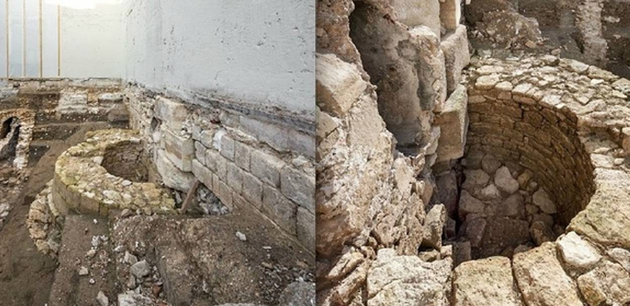 enceinte philippe auguste paris institut de france travaux archéologie paris histoire vestiges