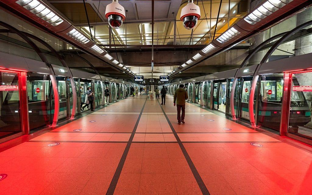 metro - clichy - ouverture - porte - train - ligne 14 -