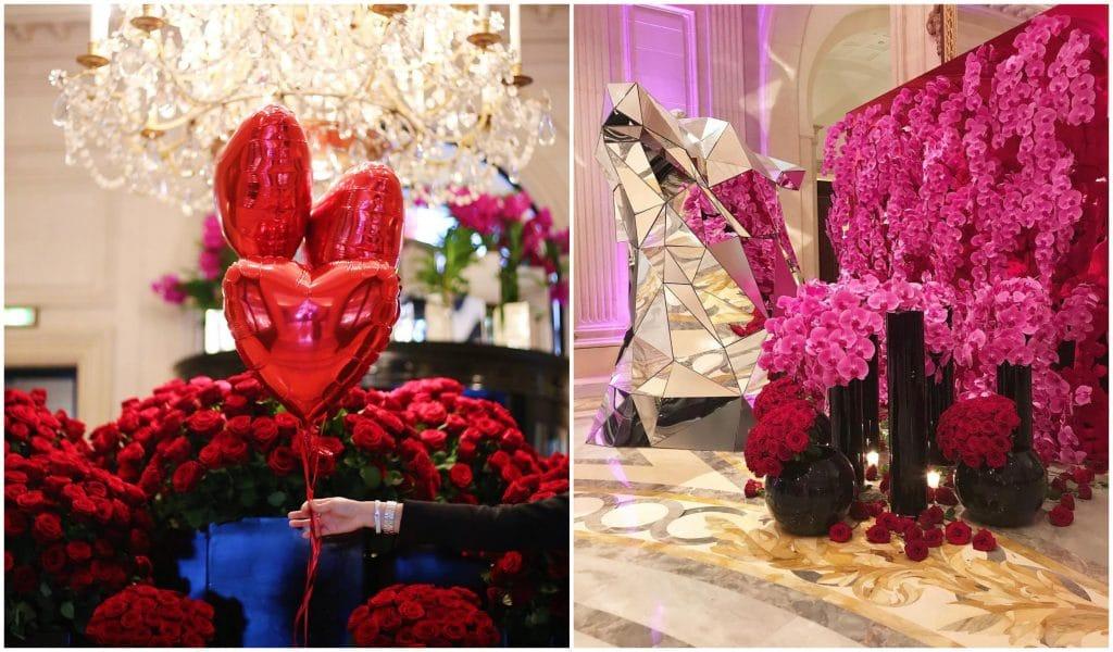 Paris : le Four Seasons Hôtel George V ouvre son pop-up store gourmand de Saint-Valentin !