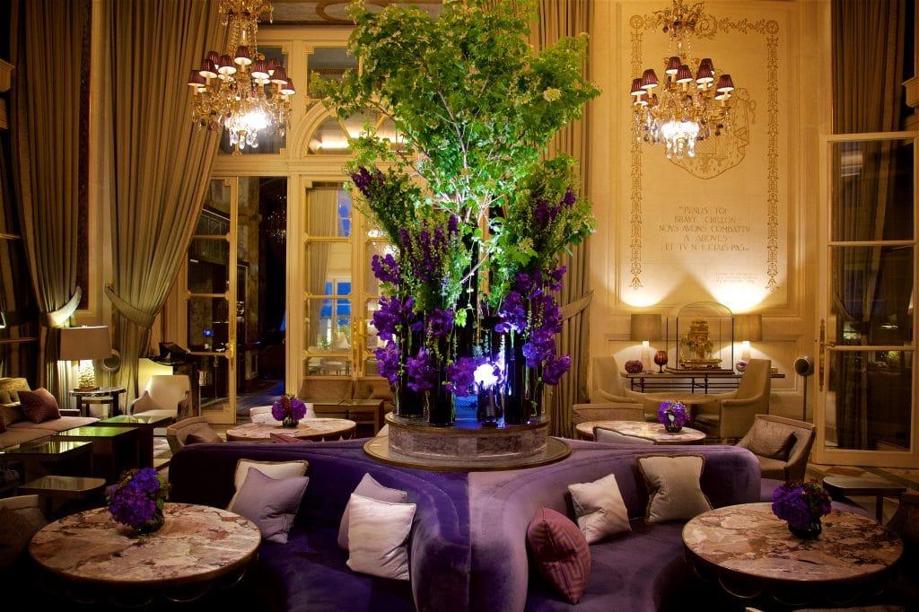 hotel - Crillon - Palace - Saint Valentin - Diner - Amour - Menu - Commander - Chef - 2021