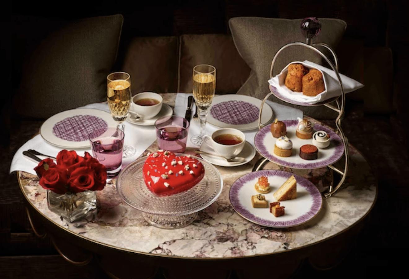 hotel - Crillon - Palace - Saint Valentin - Diner - Amour - Menu - Commande - Chef - 2021