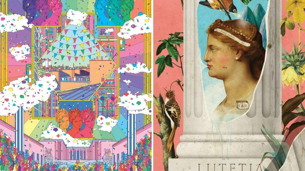 affiches belle époque paris mika redonne des couleurs à paris 2021 exposition