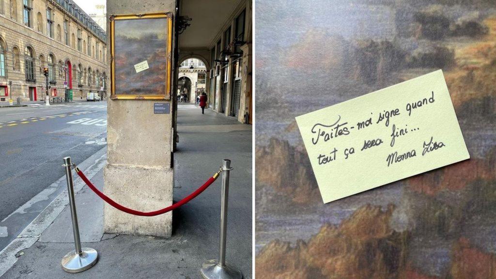 louvre joconde street art fermeture lieux de culture toolate paris rivoli