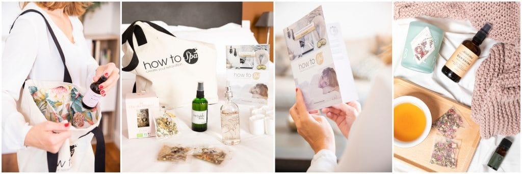 How to Spa Kits bien-être relaxation chez soi