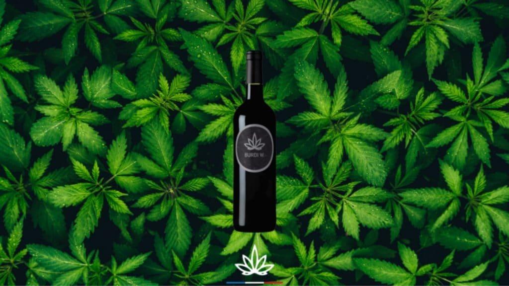 vin cannabis france cbd chanvre boisson alcool bordeaux