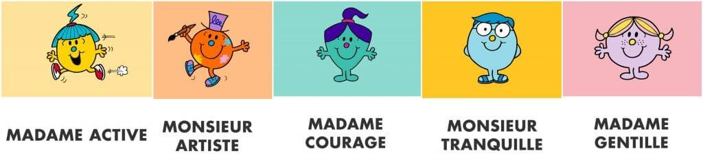 50 ans Monsieur Madame Hachette vote nouveaux personnages 2021