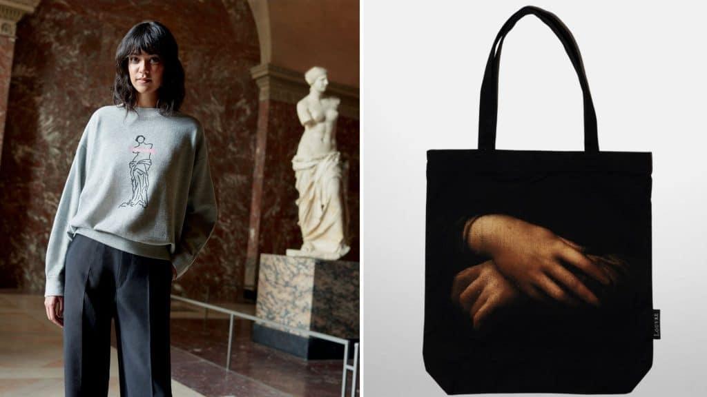 uniqlo x le louvre collection boutique en ligne musée paris secret