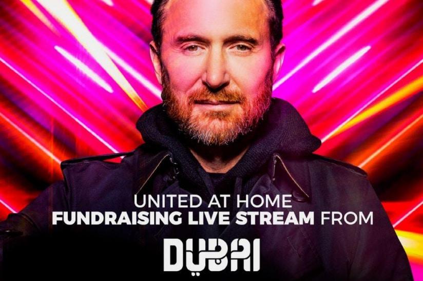 David Guetta vous invite à Dubaï pour son concert GRATUIT en live streaming !