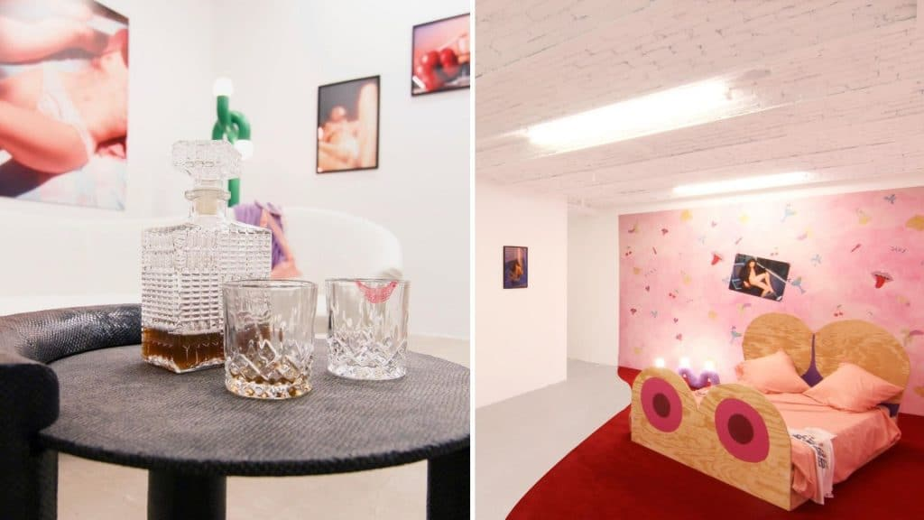 exposition saint valentin paris galerie chapelle xiv erotisme erotish virtuel art