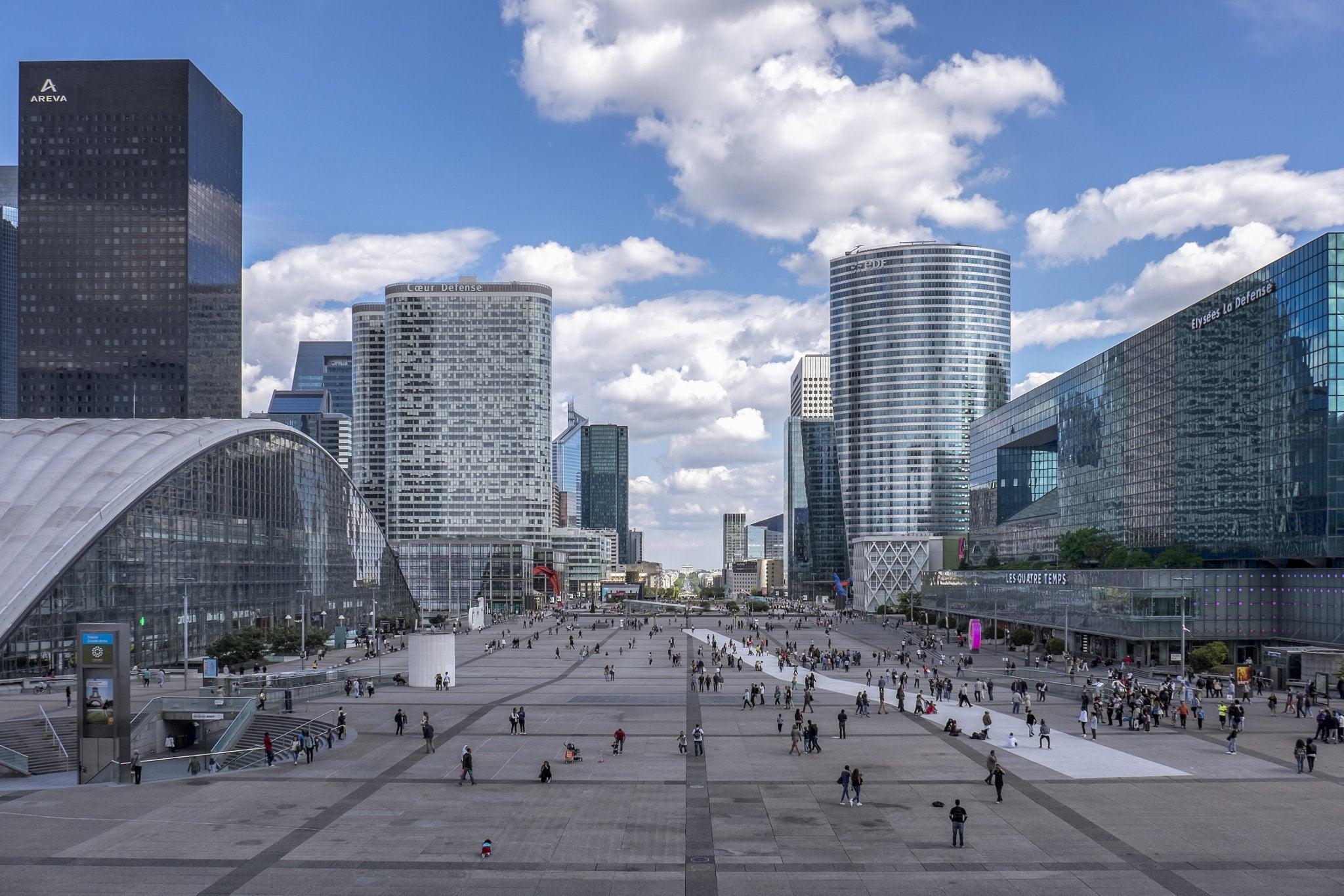 La_Defense_Paris cnit centre commercial paris
