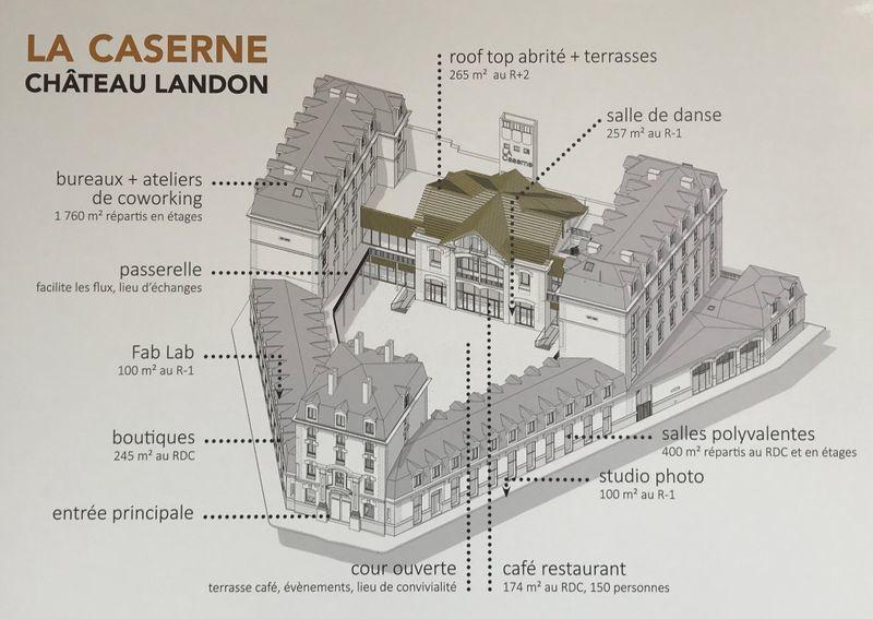 discothèque caserne chateau landon paris 10ème arrondissement rénovation projet mode cité écoresponsable