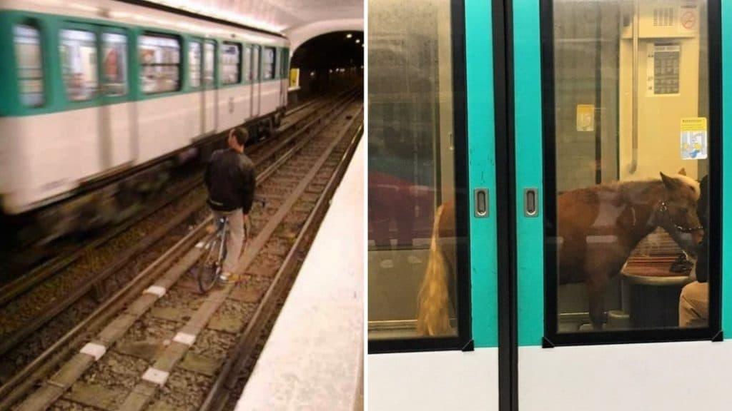 lesgensdanslemetro instagram compte insolite metro transports parisiens