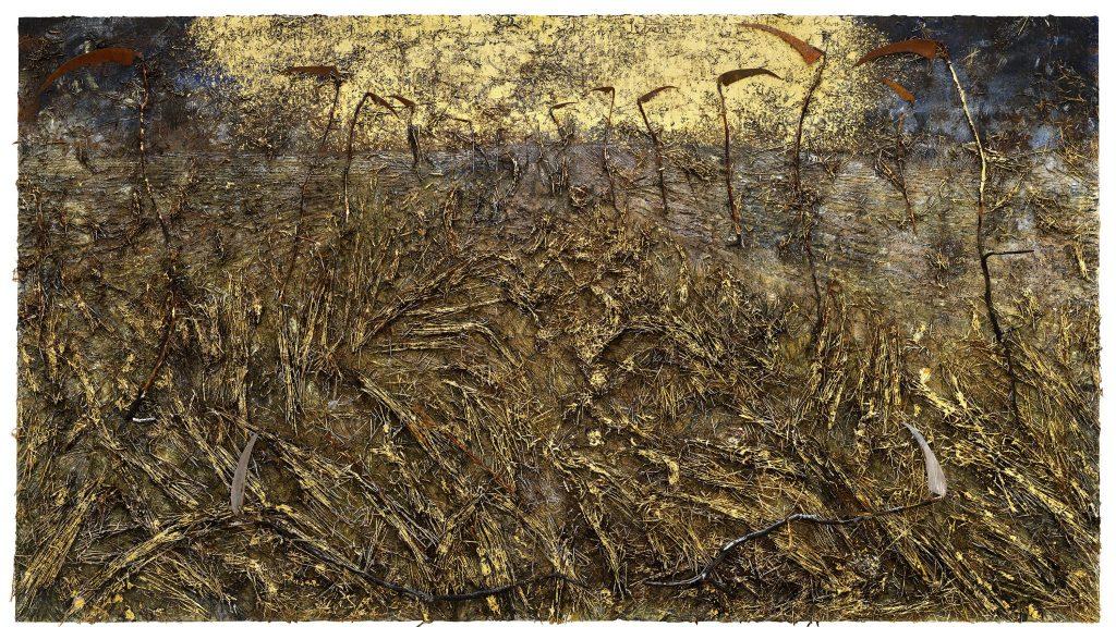 Anselm Kiefer - toile - galerie gagosian - exposition - bourget - peinture - lumière - création - Paris - gigantesque