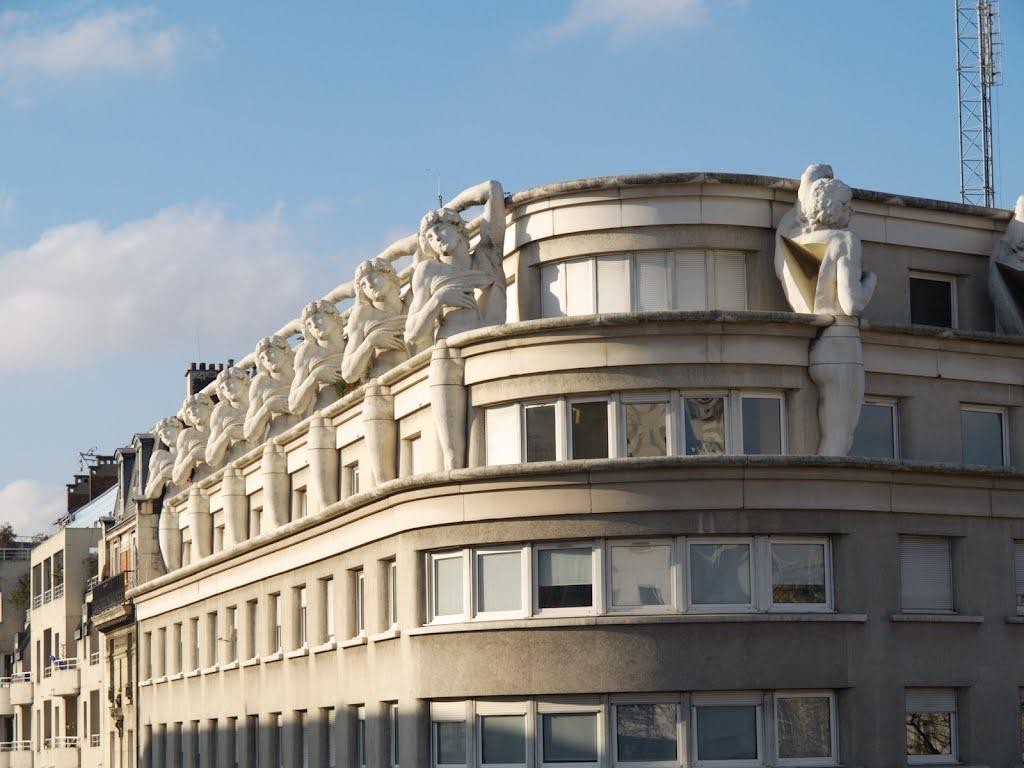 art déco paris hotel de police 12ème architecture