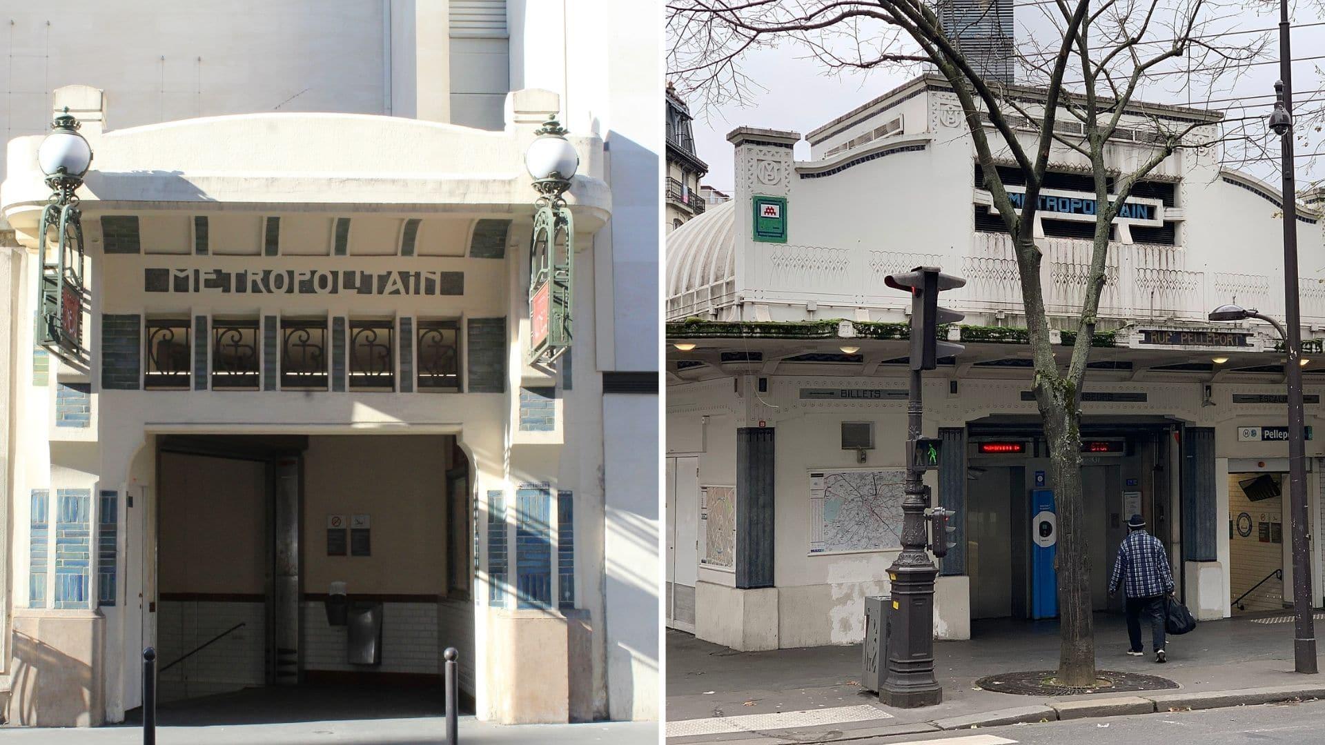 stations de métro art déco paris histoire architecture