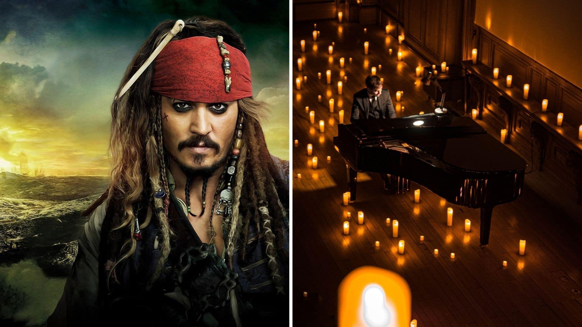 candlelight bougie paris concert musique classique jack sparrow pirate des caraibes