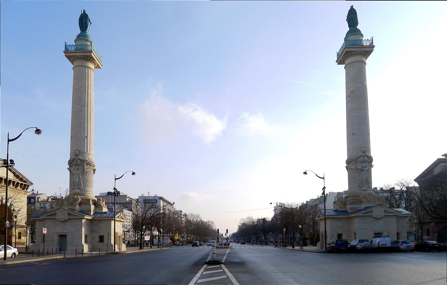 barrière du trône paris portes histoire