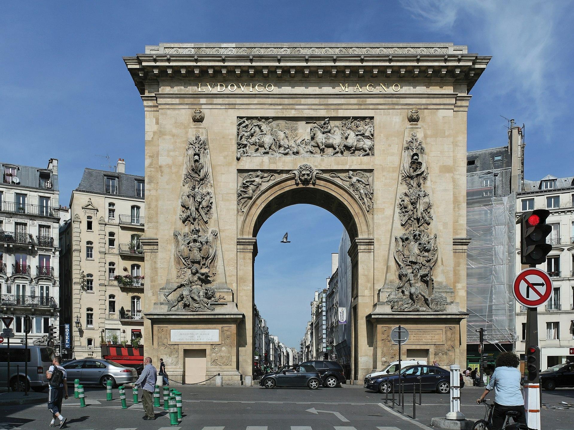 porte_Saint-Denis_paris histoire quartier
