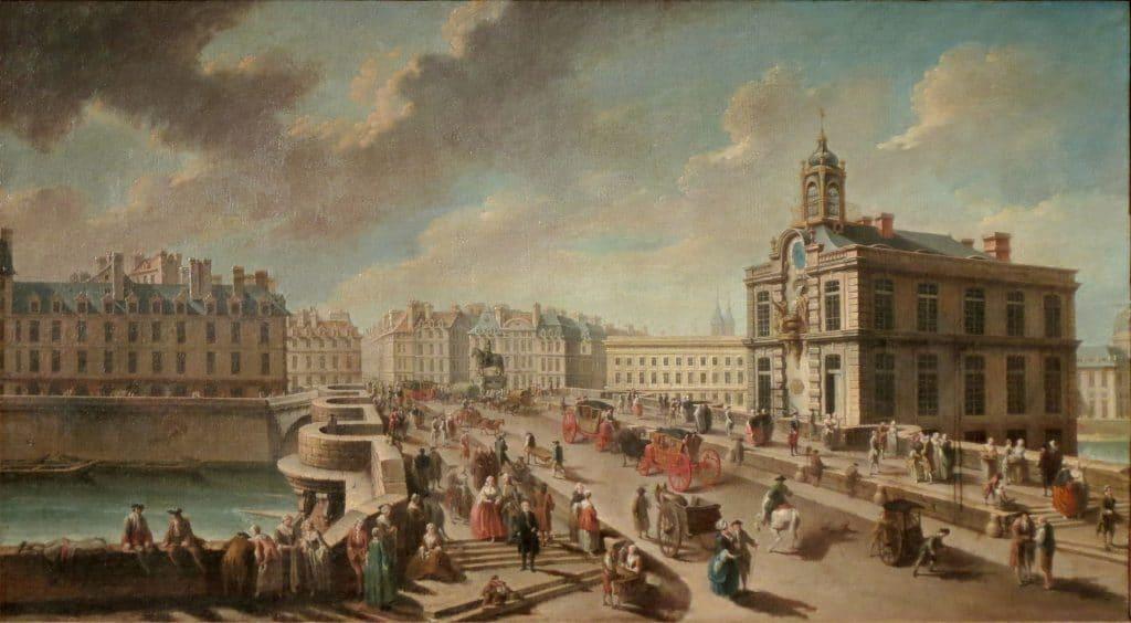 fontaine de la samaritaine - samaritaine - histoire - pont neuf - fonctaine de paris - paris - pompe - la Seine - grand magasin