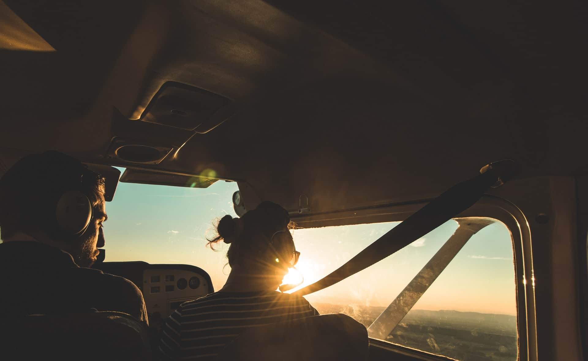 baptême de l'air expérience vol paris avion apprendre à voler piloter
