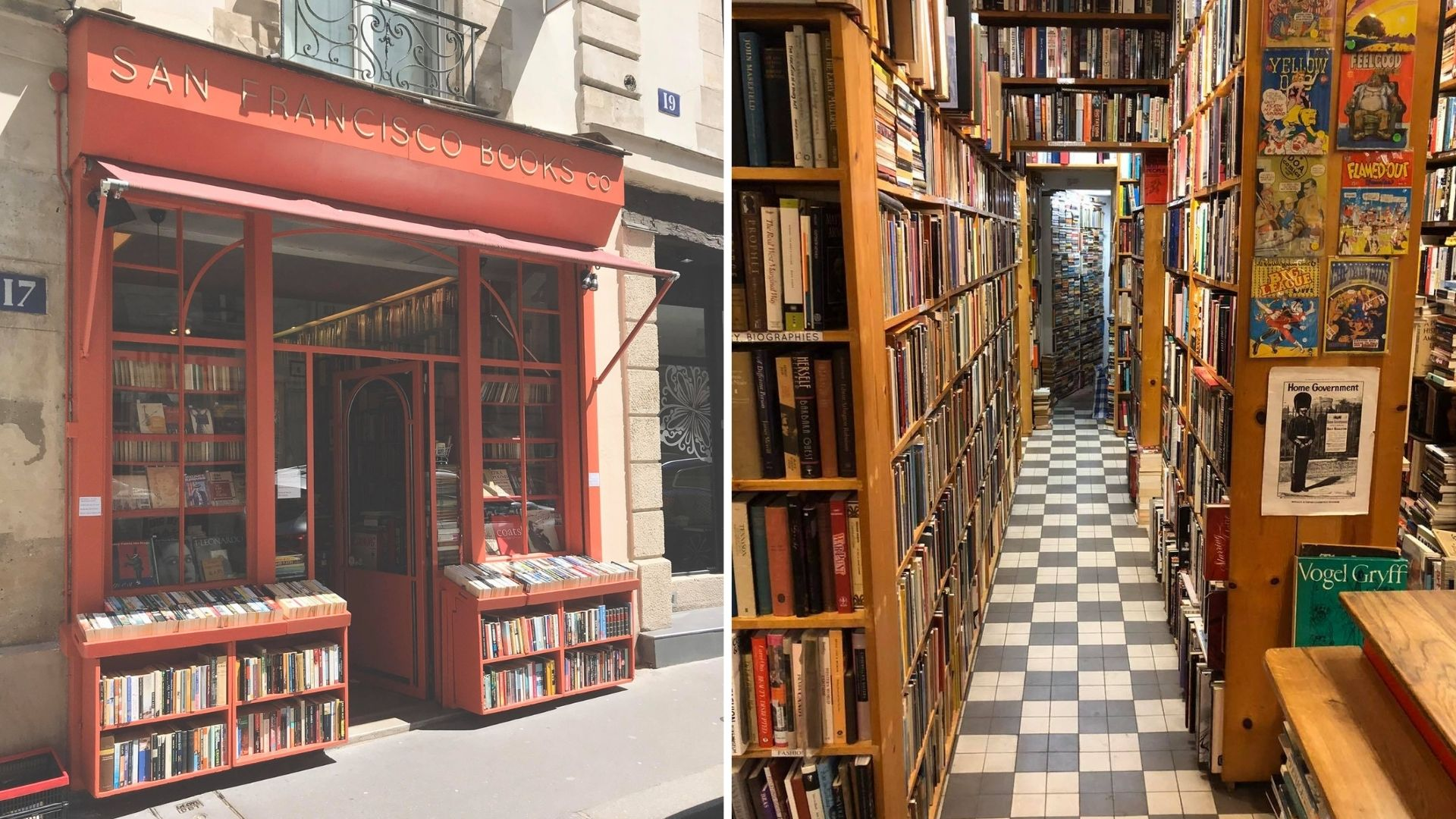 san francisco book co bookstore paris librairie anglaise anglophone anglosaxonne