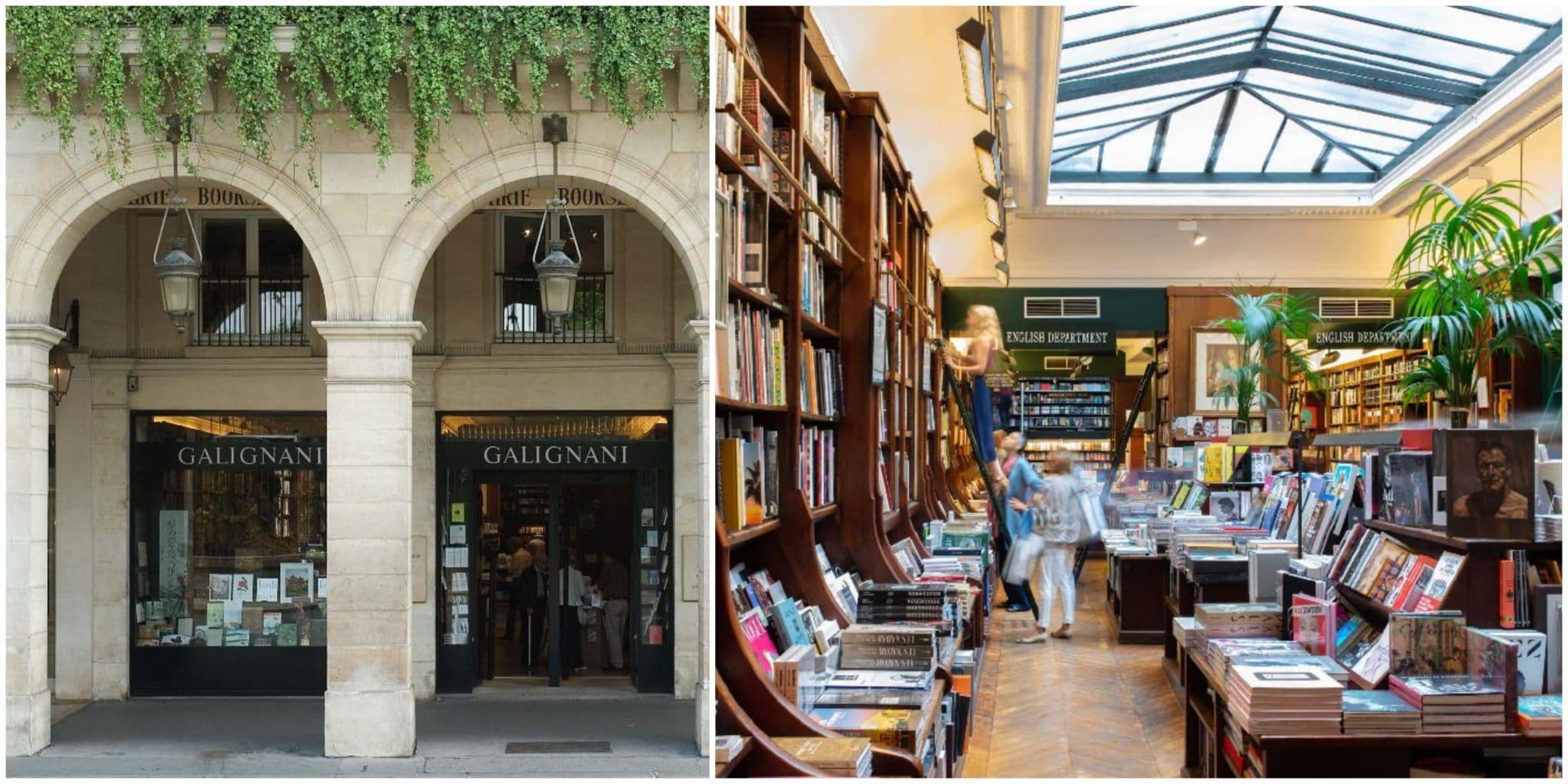 galignani bookstore paris librairie anglaise anglophone anglosaxonne