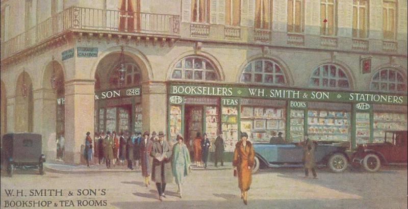 WH-Smith bookstore paris librairie anglaise anglophone anglosaxonne