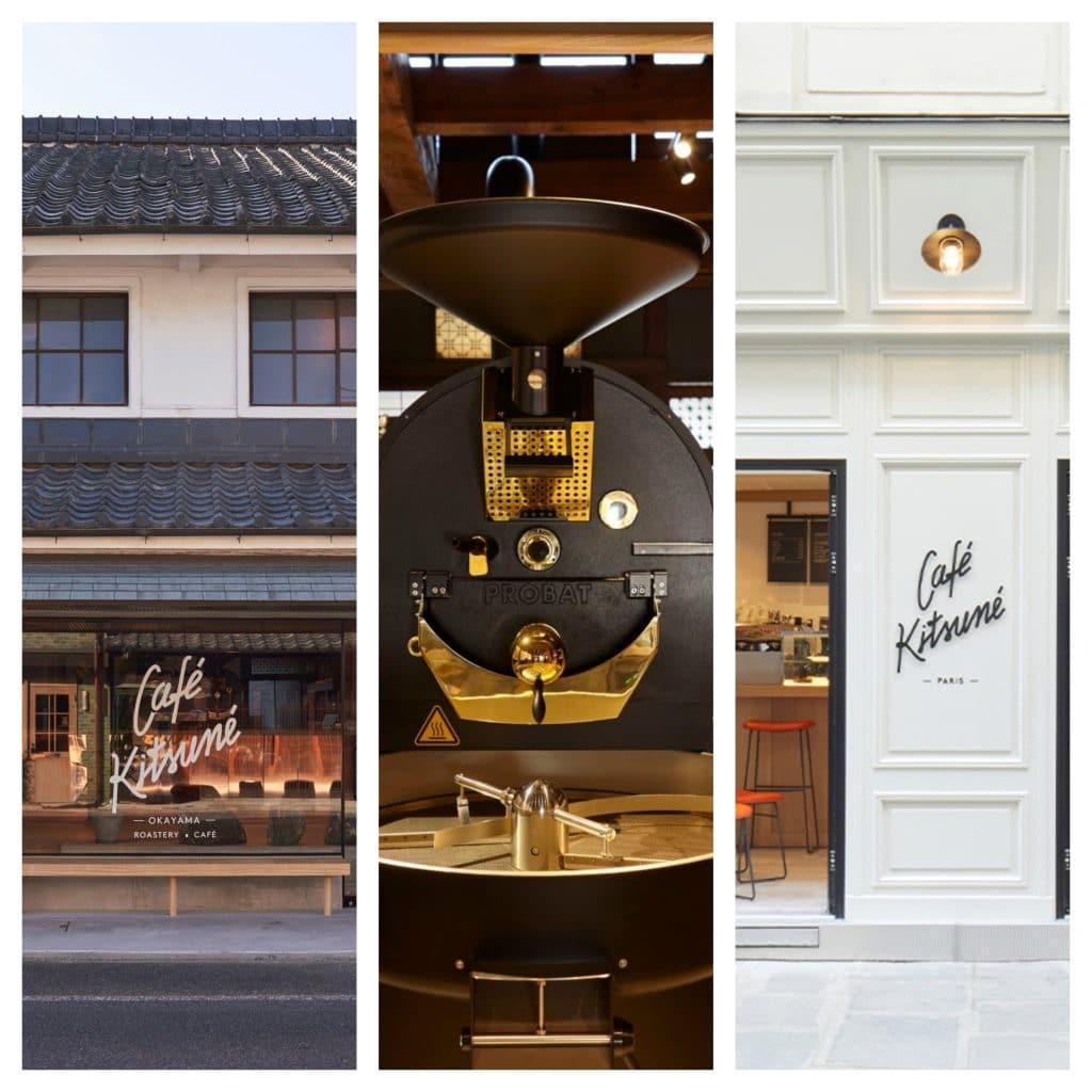 kitsuné - café - atelier - torréfaction - enseigne - paris - marais - dégustation - barista