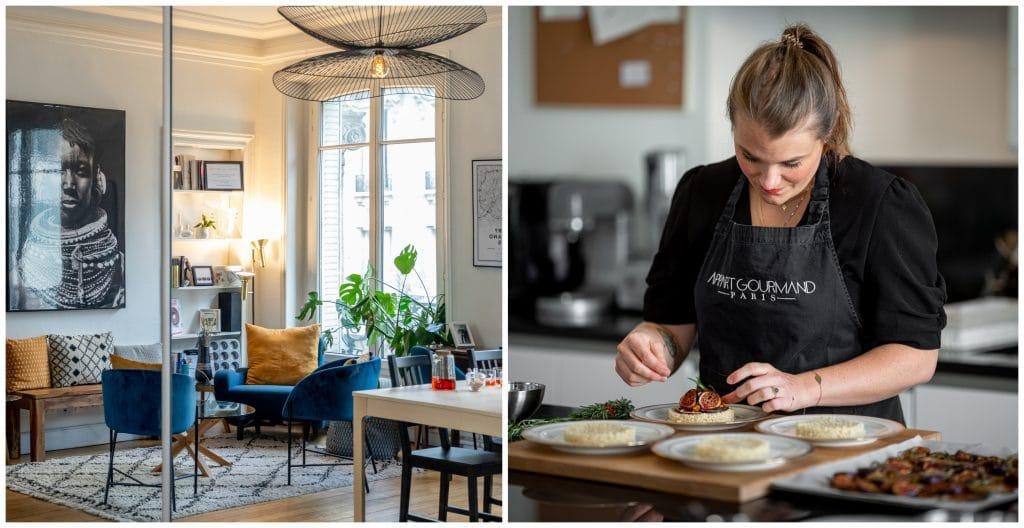 L'Appart Gourmand Ateliers culinaires secrets appart parisien comme à la maison