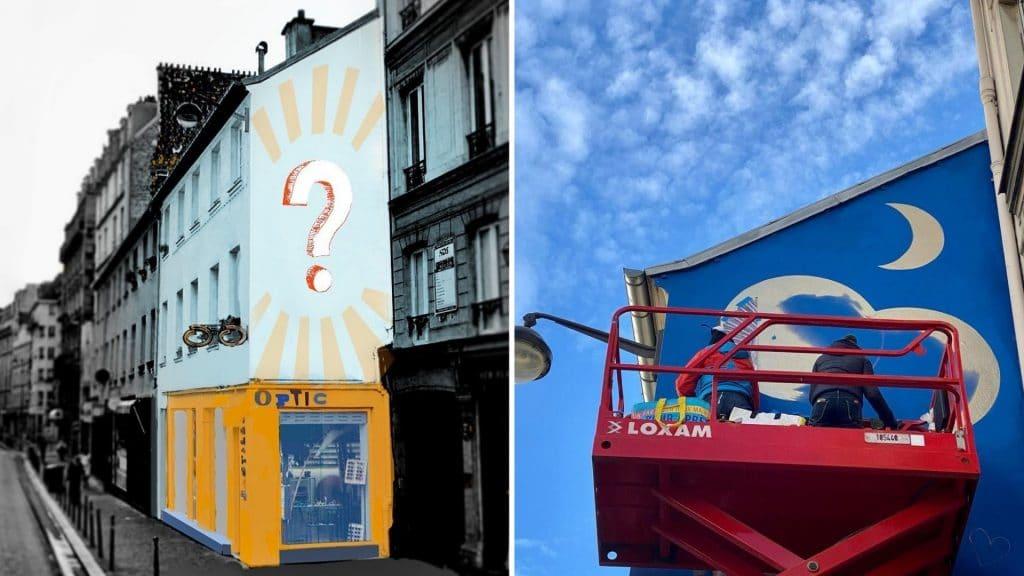 mur bastille street arts paris association art culture