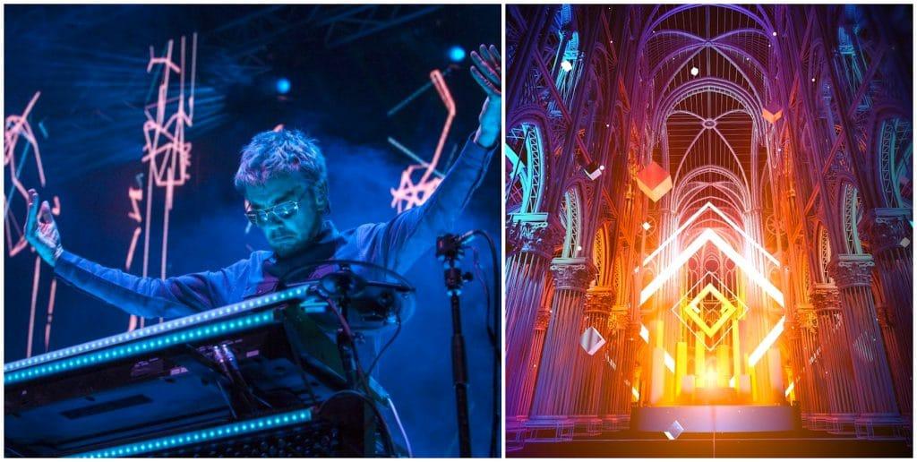 Jean-Michel Jarre - concert - show - électronique - paris - notre dame de paris - vr - réalité virtuelle - en ligne - streaming - live - direct - nouvel an - technique - musique