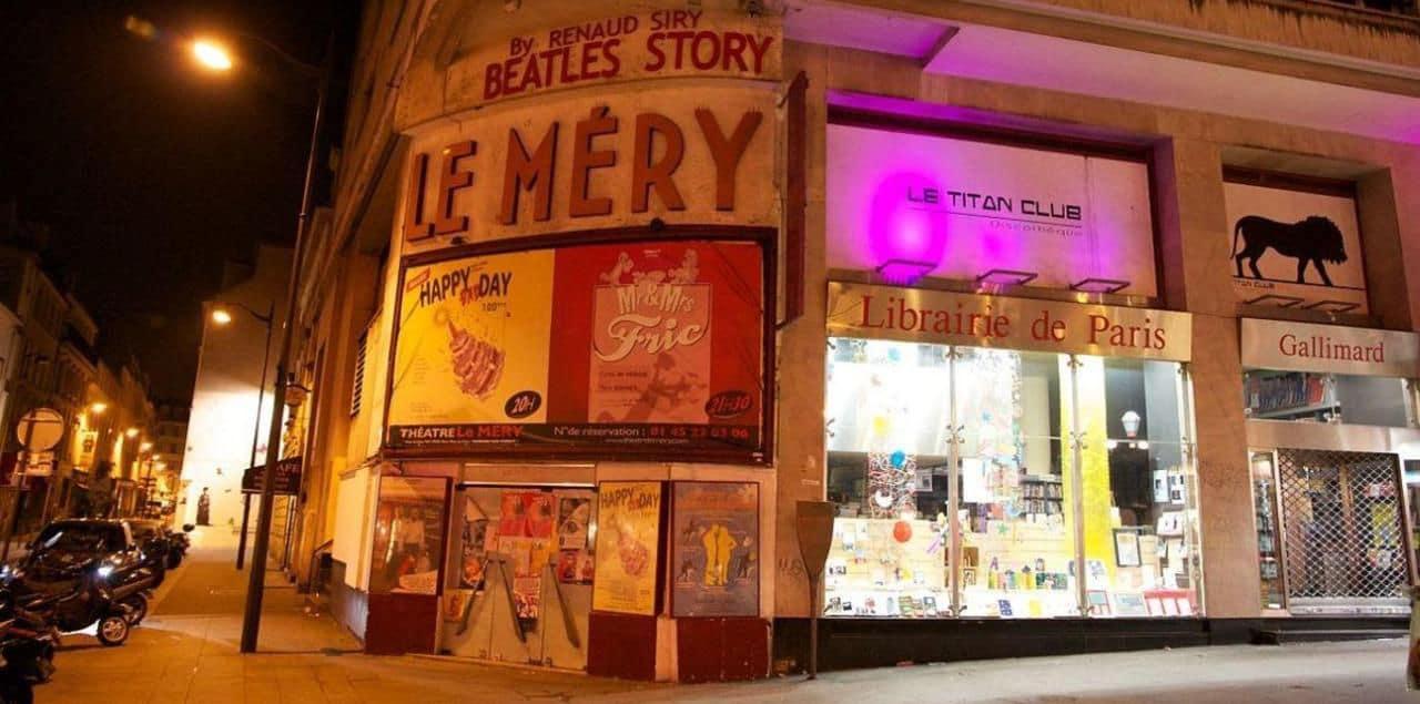 cinéma x le méry théâtre paris cabaret histoire