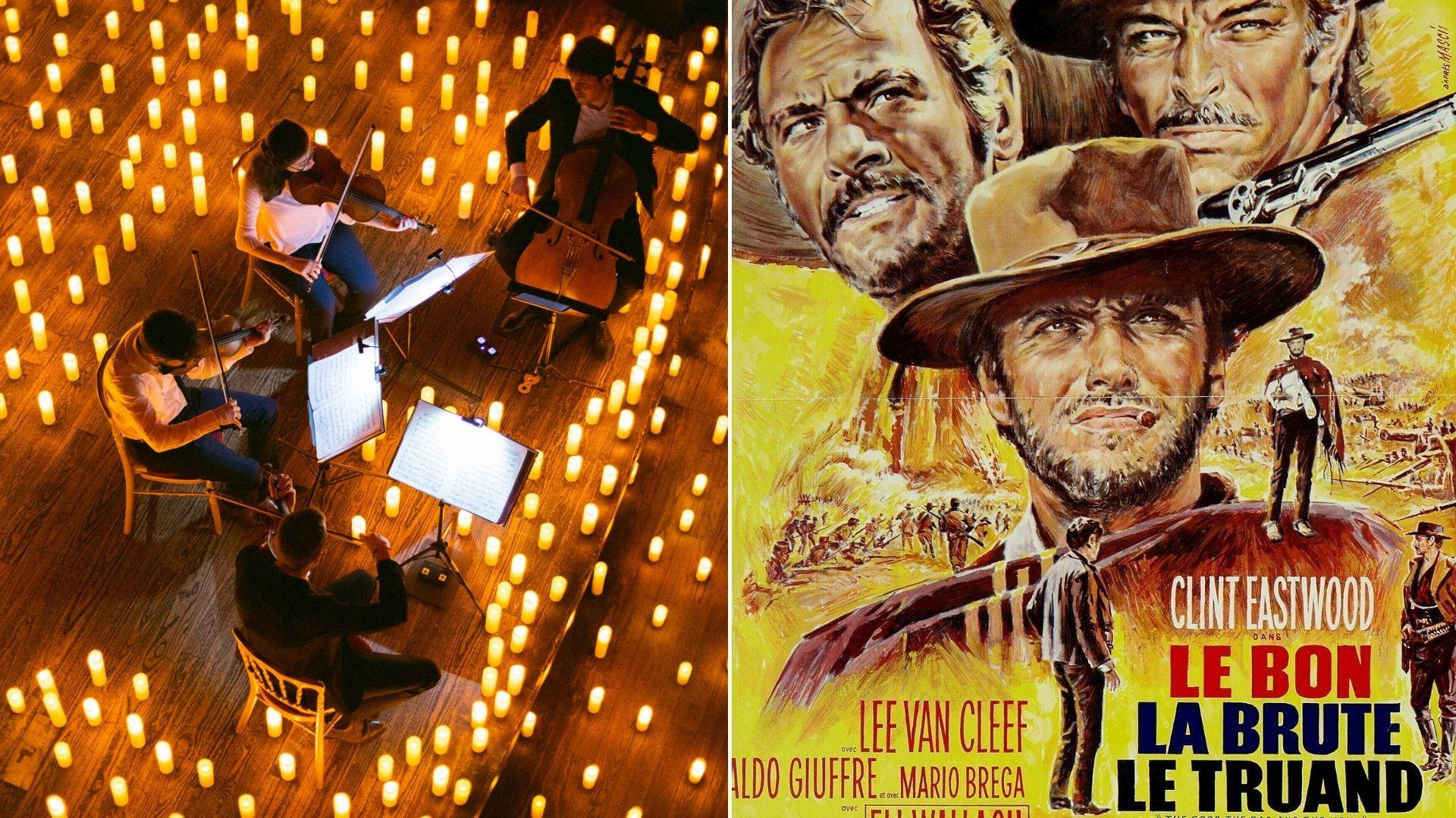 ennio morricone concert à la bougie paris musiques de films candlelight
