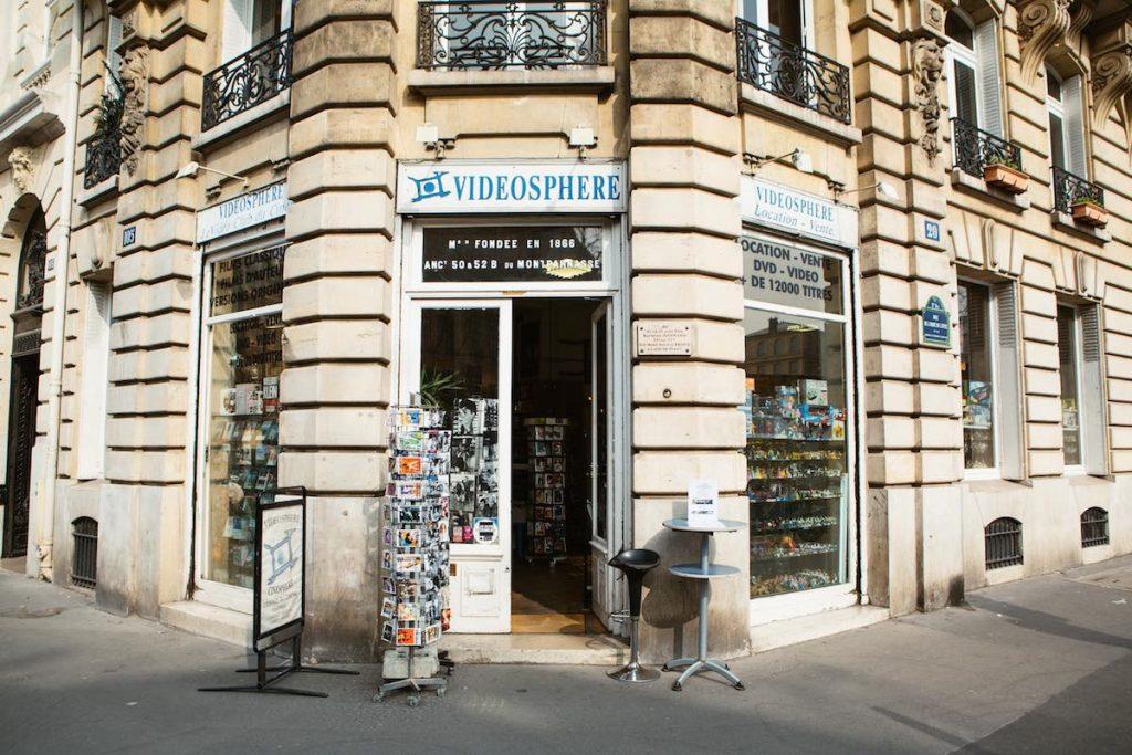 Vidéosphère Paris 5 fermeture de l'un des derniers videoclubs de Paris